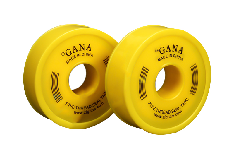 Yellow Color Teflon Tape for Gas Tape